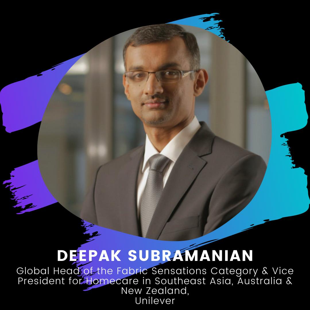 Young Founders Summit Mentor Deepak Subramanian
