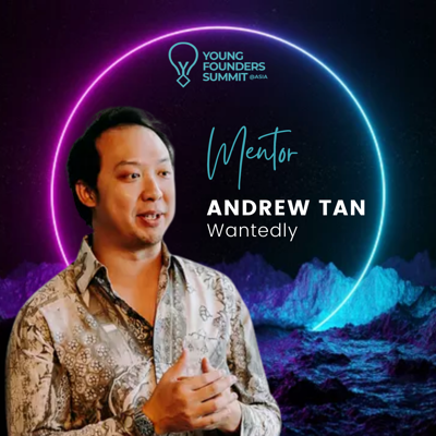 Young Founders Summit Mentor Andrew Tan