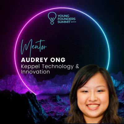 Young Founders Summit Mentor Audrey Ong