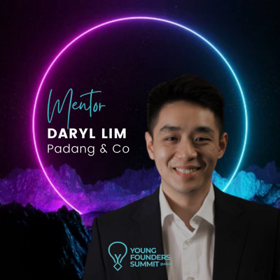 Young Founders Summit Mentor Daryl Lim