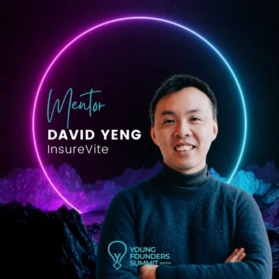 Young Founders Summit Mentor David Yeng