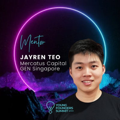 Young Founders Summit Mentor Jayren Teo-1