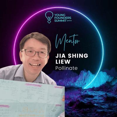 Young Founders Summit Mentor Jia Shing Liew