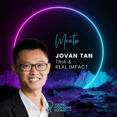 Young Founders Summit Mentor Jovan Tan
