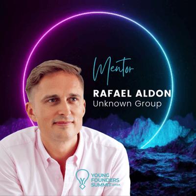 Young Founders Summit Mentor Rafael Aldon