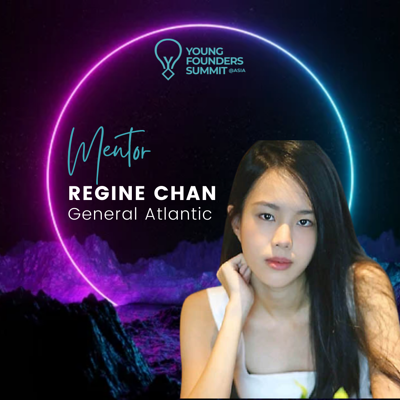 Young Founders Summit Mentor Regine Chan