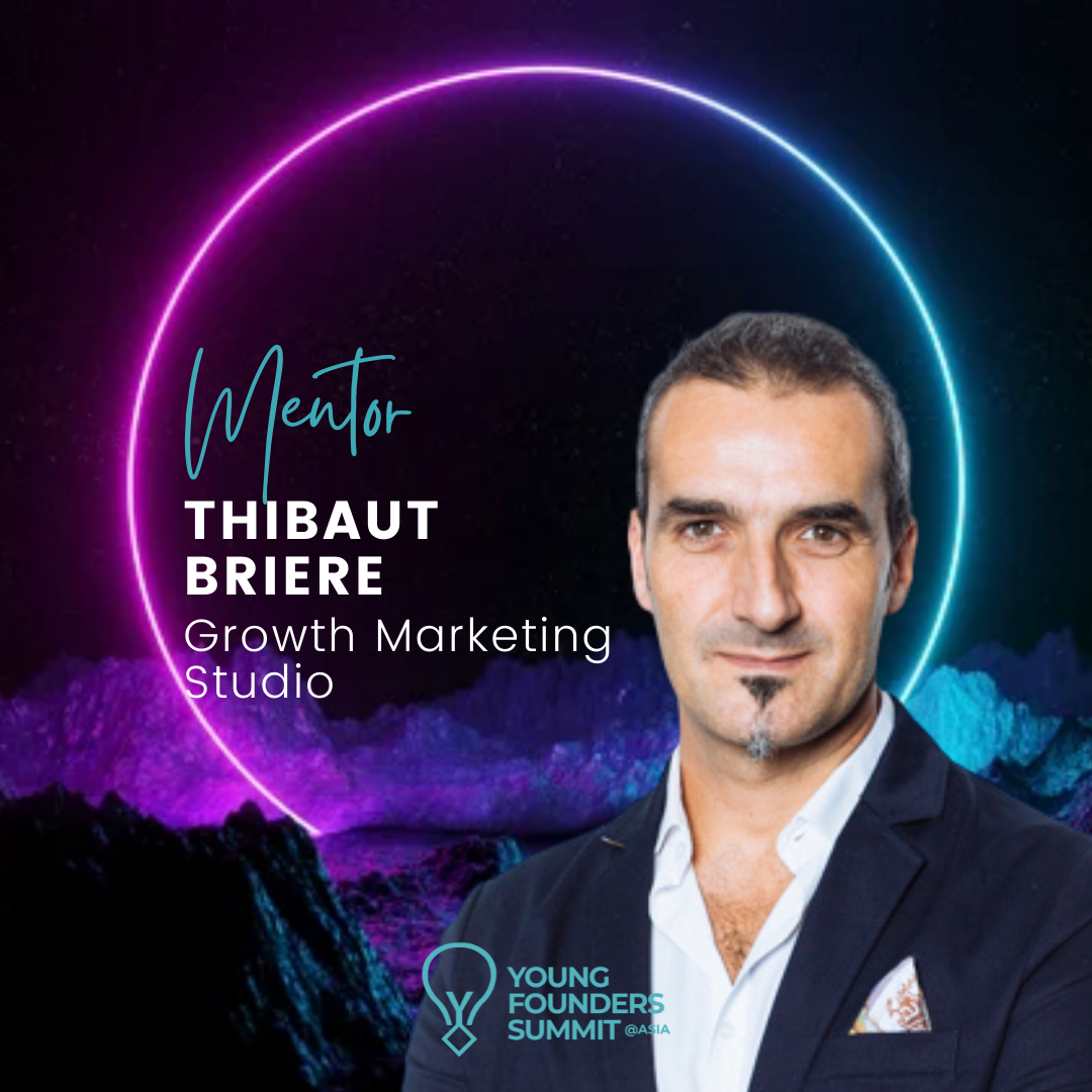 Young Founders Summit Mentor Thibaut Briere