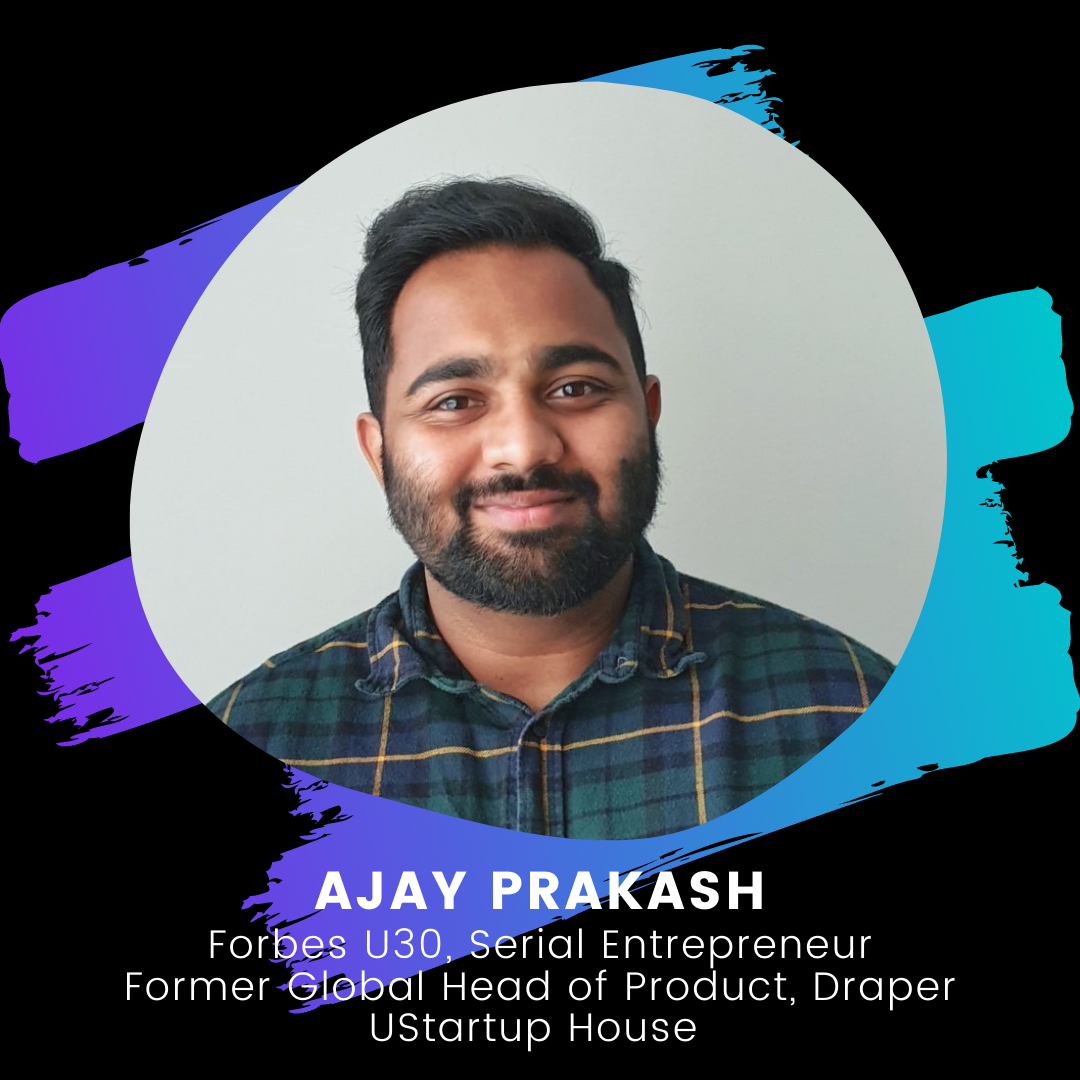 Young Founders Summit 2020 Mentor - Ajay Prakash - site