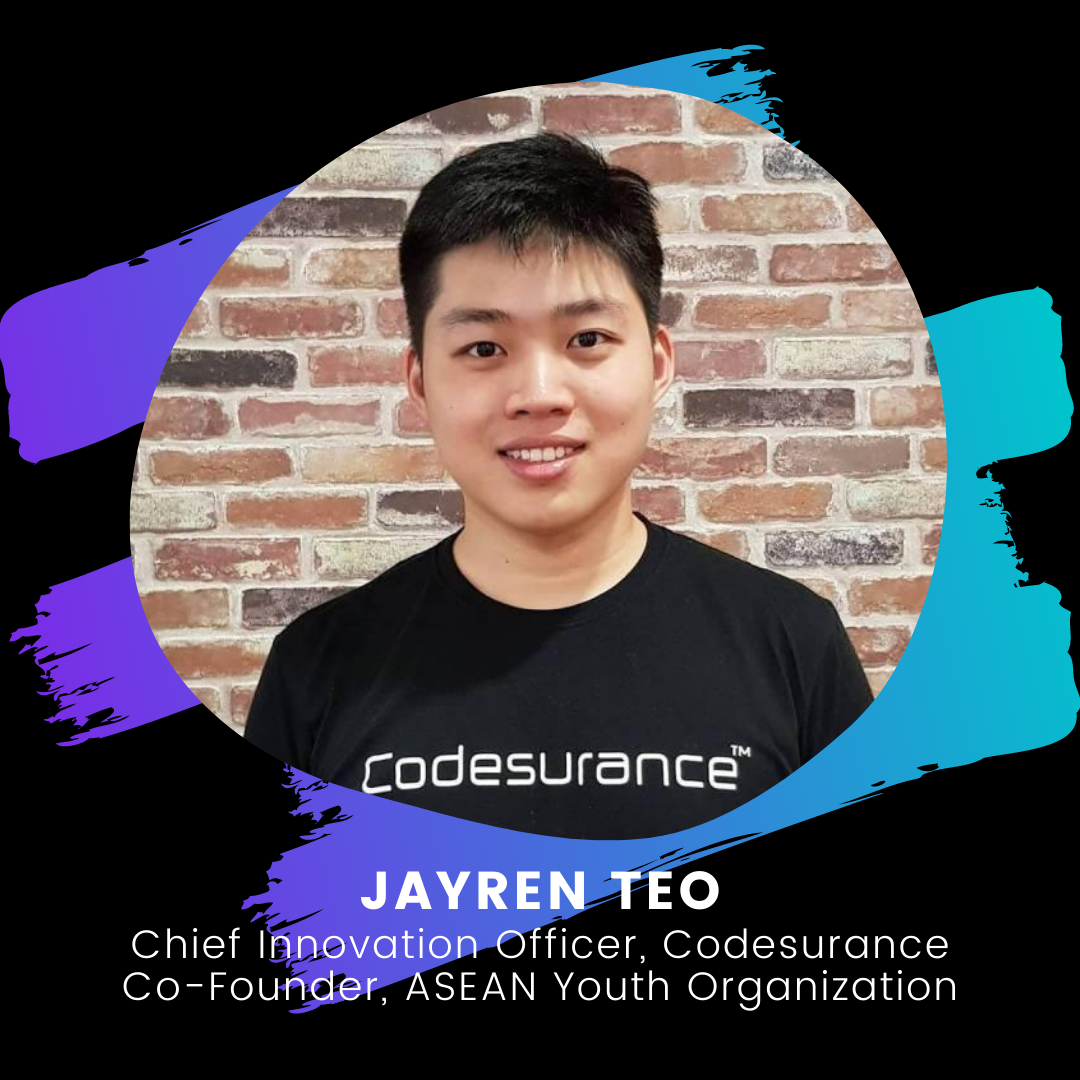 Young Founders Summit Mentor Jayren Teo